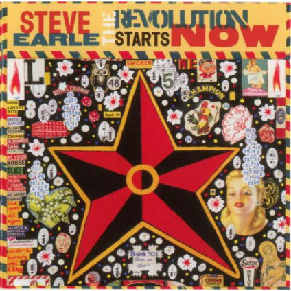 The Revolution Starts Now - Steve Earle - CD