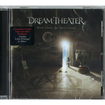 Black Clouds & Silver Linings - Dream Theater - CD