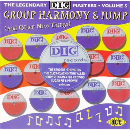 Group Harmony & Jump: Dig Masters Vol 5 - Various - CD