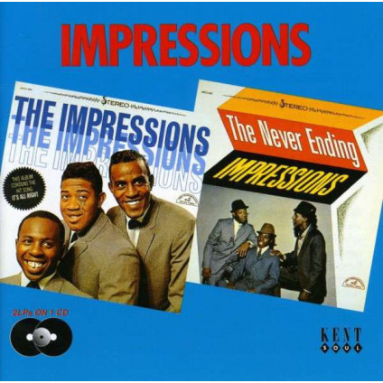 The Impressions/The Never Ending Impressions - The Impressions - CD
