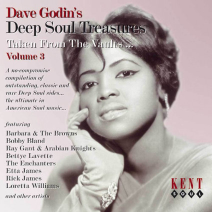 Deep Soul Treasures (Taken From The Vaults...) (Volume 3) - Dave Godin - CD