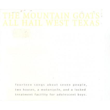 All Hail West Texas - The Mountain Goats - CD