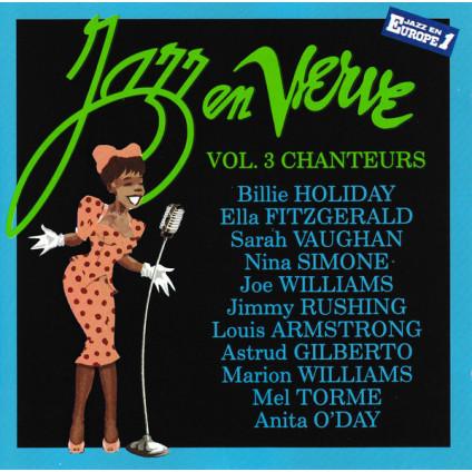 Jazz En Verve Vol. 3 - Chanteurs - Various - CD