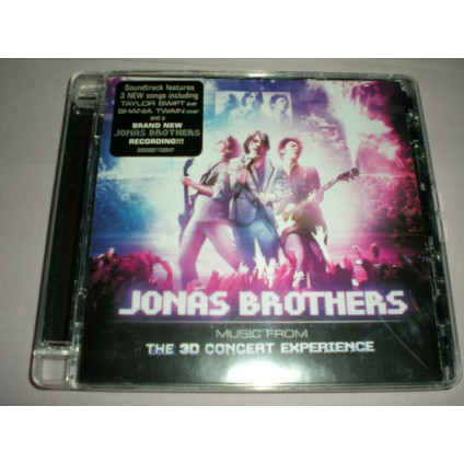 Music From The 3D Concert Experience - Jonas Brothers - CD