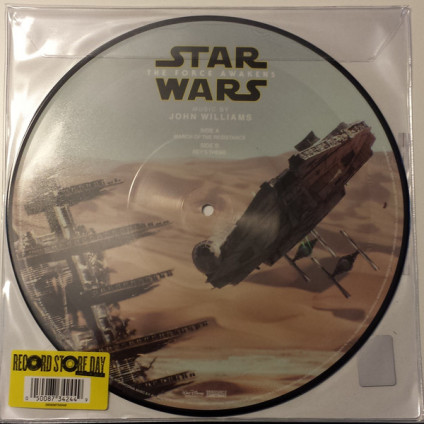 """Star Wars: The Force Awakens (March Of The Resistance / Rey's Theme) - John Williams - 10"""""""