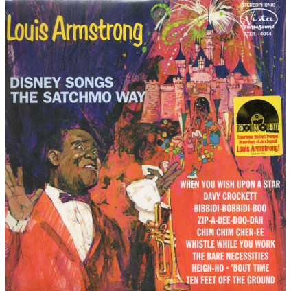 Disney Songs The Satchmo Way - Louis Armstrong - LP