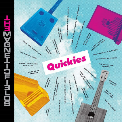 Quickies (Box 5X 7' ) - Magnetic Fields The - LP
