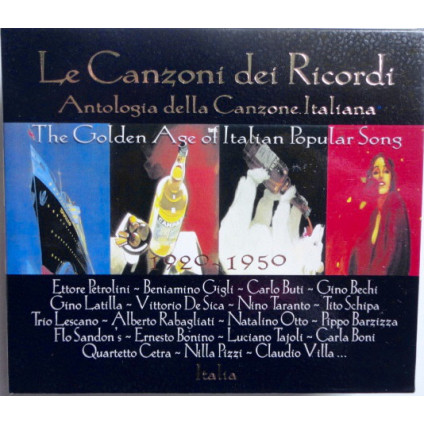 Le Canzoni Dei Ricordi (The Golden Age Of Italian Popular Song 1920-1950) - Various - CD