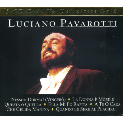 Gold-51 Songs - Pavarotti Luciano - CD
