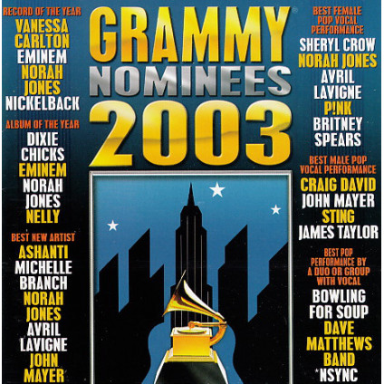 2003 Grammy Nominees - Various - CD