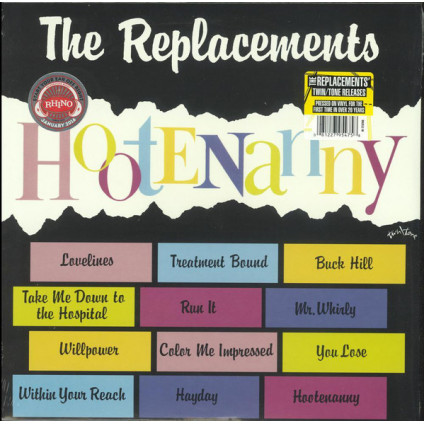 Hootenanny - The Replacements - LP