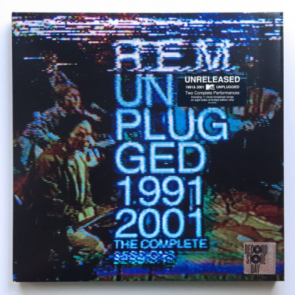 Unplugged 1991 & 2001 (The Complete Sessions) - R.E.M. - LP