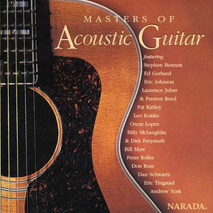 Masters Of Acoustic Guitar - Various - CD
