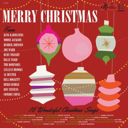 Merry Christmas From King Records - Various - LP