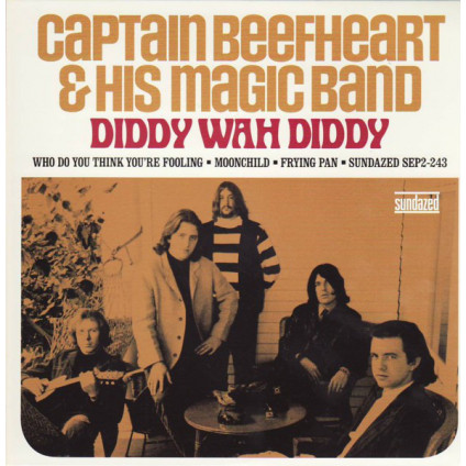 Diddy Wah Diddy - Captain Beefheart & His Magic Band - 7""