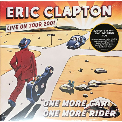 One More Car One More Rider (Live On Tour 2001) - Eric Clapton - LP