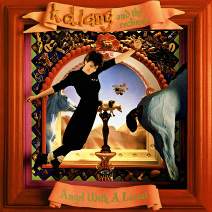 Angel With A Lariat - k.d. lang and the reclines - LP