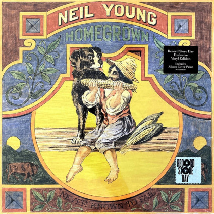 Homegrown - Neil Young - LP