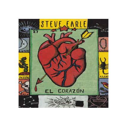 El Corazón - Steve Earle - LP