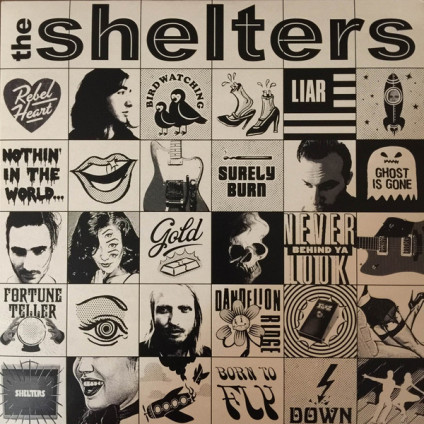 The Shelters - The Shelters - LP