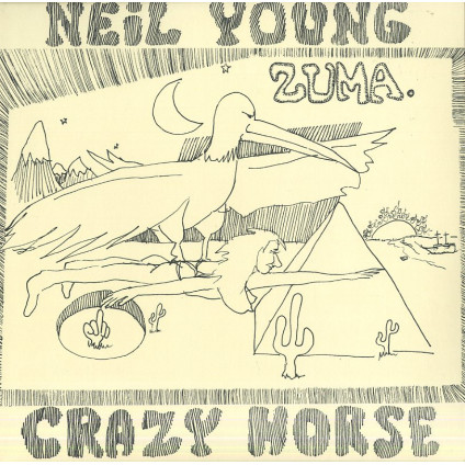 Zuma - Neil Young With Crazy Horse - LP