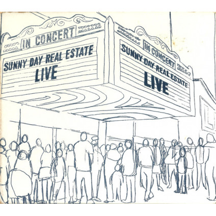 Live - Sunny Day Real Estate - CD