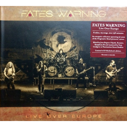 Live Over Europe - Fates Warning - CD