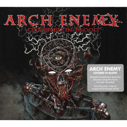 Covered In Blood - Arch Enemy - CD