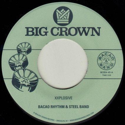 Xxplosive - Bacao Rhythm & Steel Band - 7""
