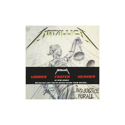 ...And Justice For All - Metallica - LP