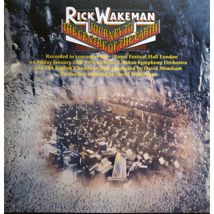 Journey To The Centre Of The Earth - Rick Wakeman - LP