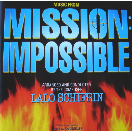 Music From Mission: Impossible - Lalo Schifrin - CD