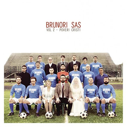 Vol.2 Poveri Cristi (180 Gr. Vinyl Cristal) - Brunori Sas - LP
