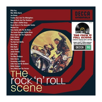 The Rock And Roll Scene (Rsd 2020) - Compilation - LP