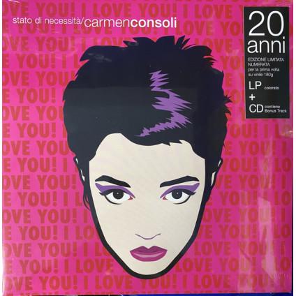 Stato Di Necessita' - Carmen Consoli - LP+CD