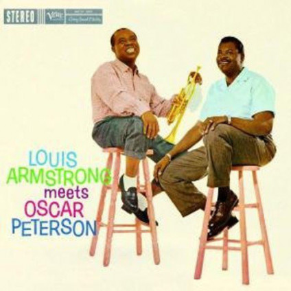 Louis Armstrong Meets Oscar Peteeson (Acoustic Sounds) - Armstrong Louis & Peterson Oscar - LP