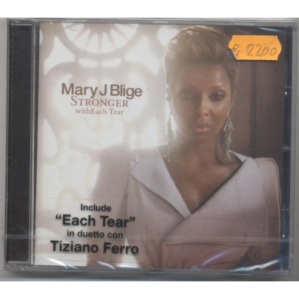 Stronger With Each Tear - Mary J Blige - CD