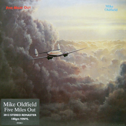 Five Miles Out - Mike Oldfield - LP