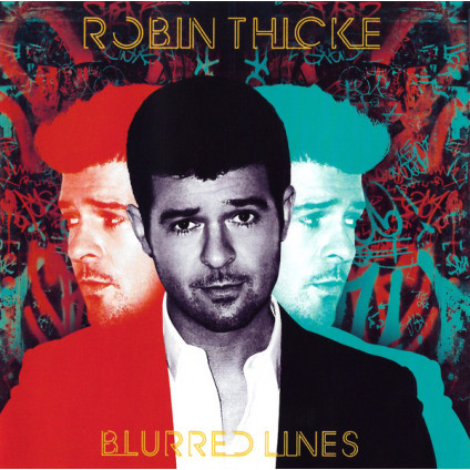 Blurred Lines - Robin Thicke - CD