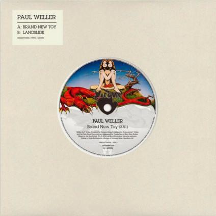 "Brand New Toy - Paul Weller - 7"""