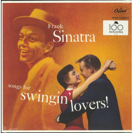 Songs For Swingin' Lovers! - Frank Sinatra - LP
