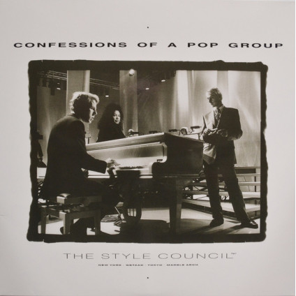 Confessions Of A Pop Group - The Style Council - LP