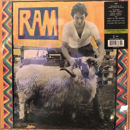 Ram - Paul And Linda McCartney - LP