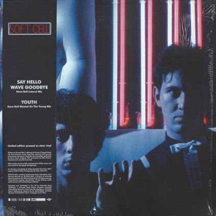 """Say Hello Wave Goodbye / Youth - Soft Cell - 12"""""""