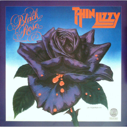Black Rose - A Rock Legend - Thin Lizzy - LP