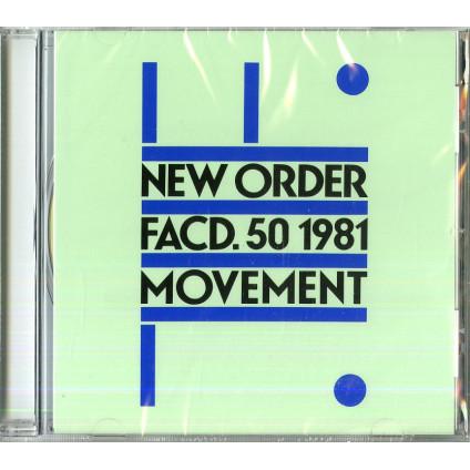 Movement - New Order - CD