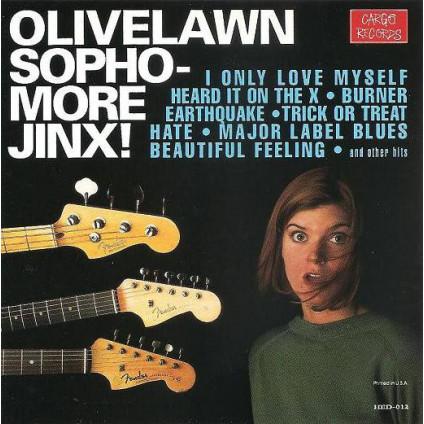 Sophomore Jinx! - Olivelawn - CD