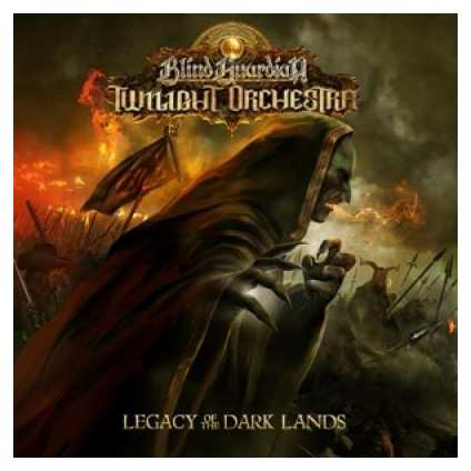 Legacy Of The Dark Lands - Blind Guardian Twilight Orchestra - CD
