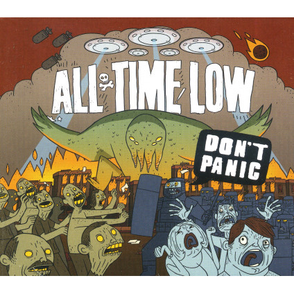 Don't Panic - All Time Low - CD