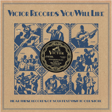 "Statesboro Blues/Three Women Blues - Mctell Blind Willie - 10"""